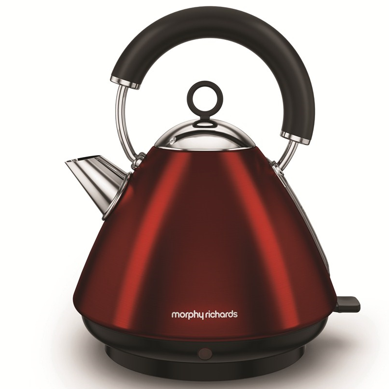 3Kw Pyramid Kettle 1.5litre Red