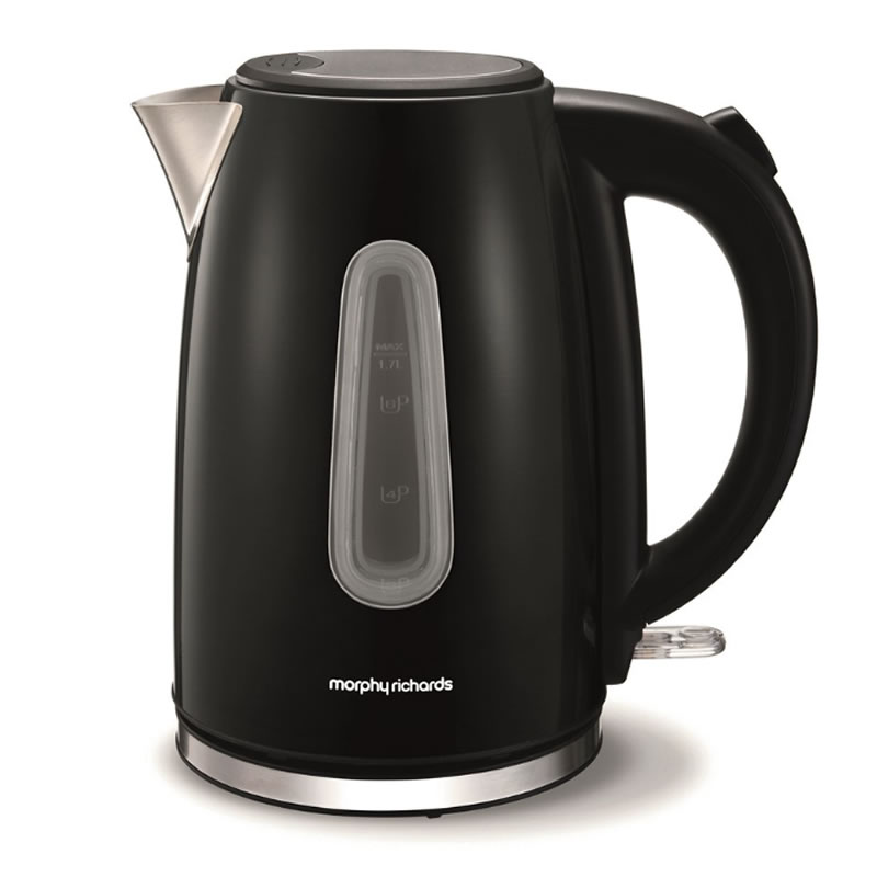 Image of 3Kw Jug Kettle 1.7litre Stainless Steel & Black