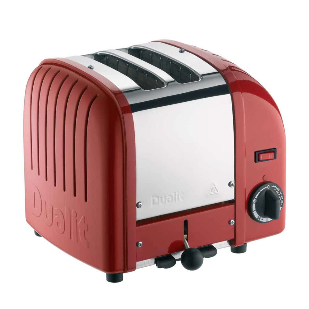 2-Slice Toaster Hi Lift Polished Red