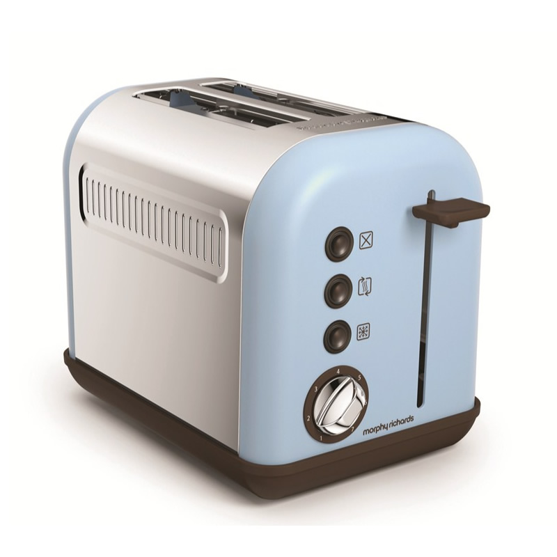 Image of 2-Slice 2-Slot Toaster blue