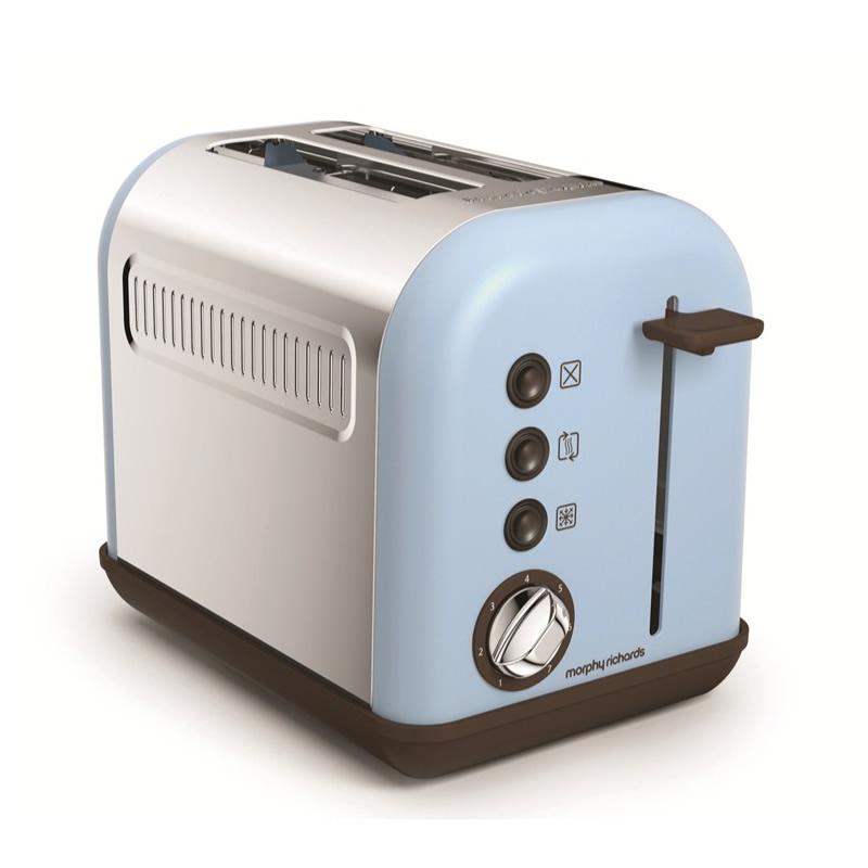 2-Slice 2-Slot Toaster blue