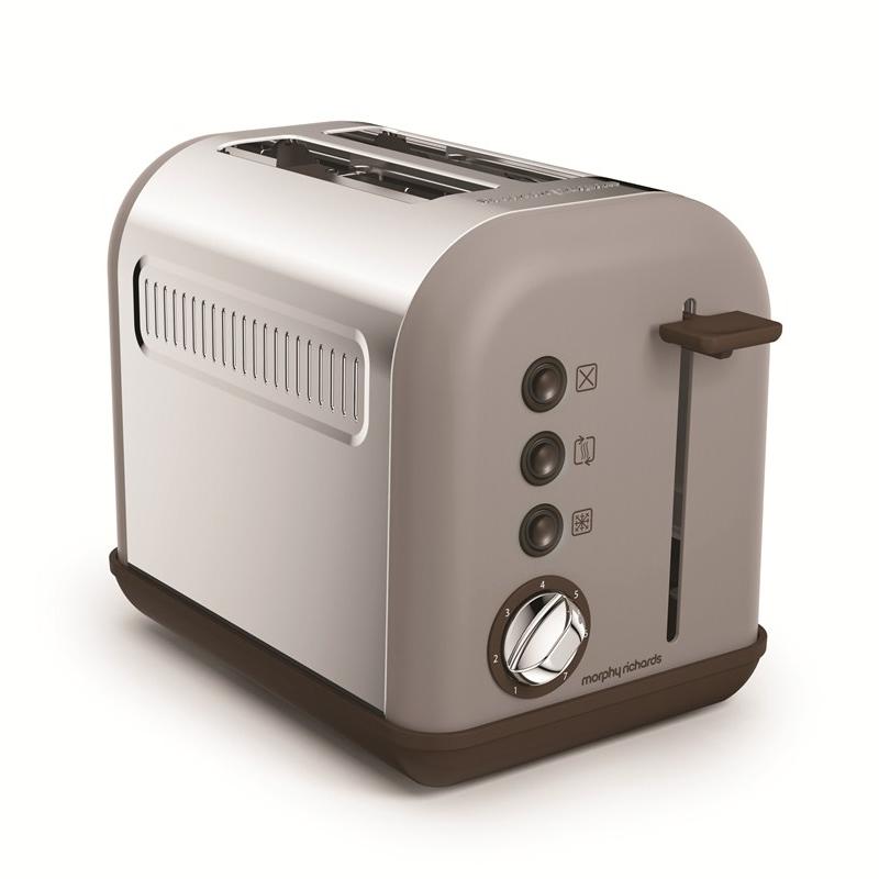 2-Slice 2-Slot Toaster Pebble
