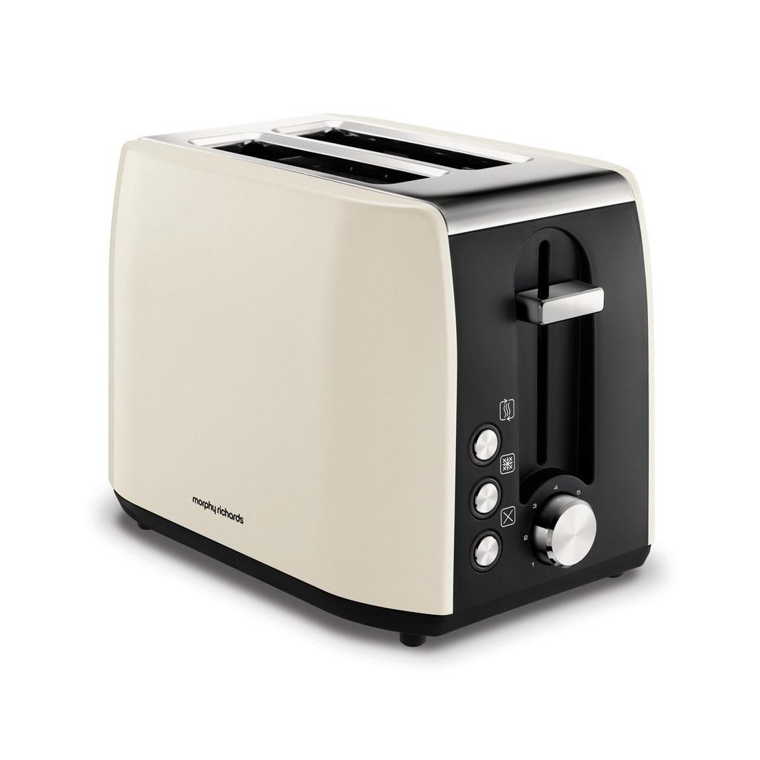 2-Slice 2-Slot Toaster Hi-Lift Cream