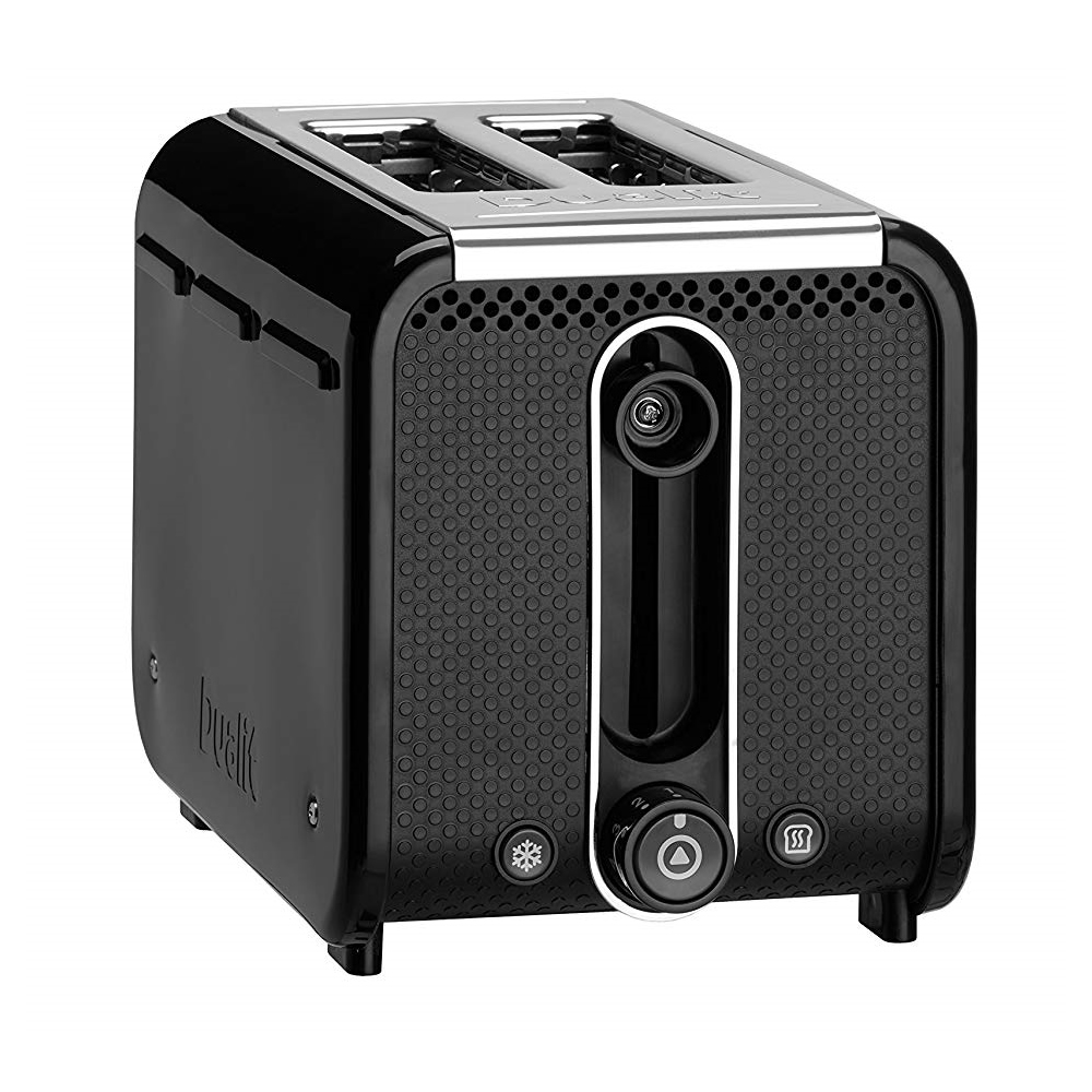 Image of 2-Slice Toaster 9 Level Browning Control Black