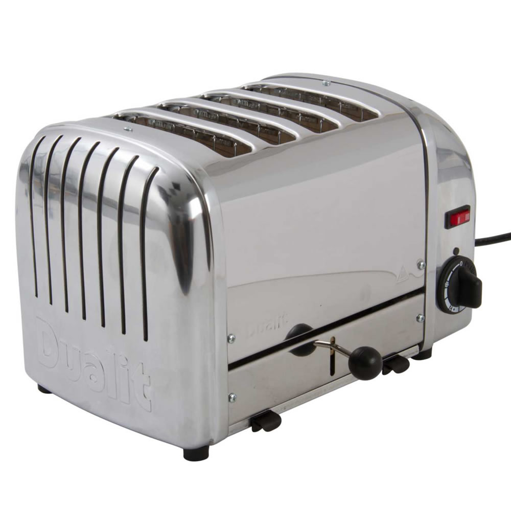 4-Slice Toaster Hi Lift Stainless Steel