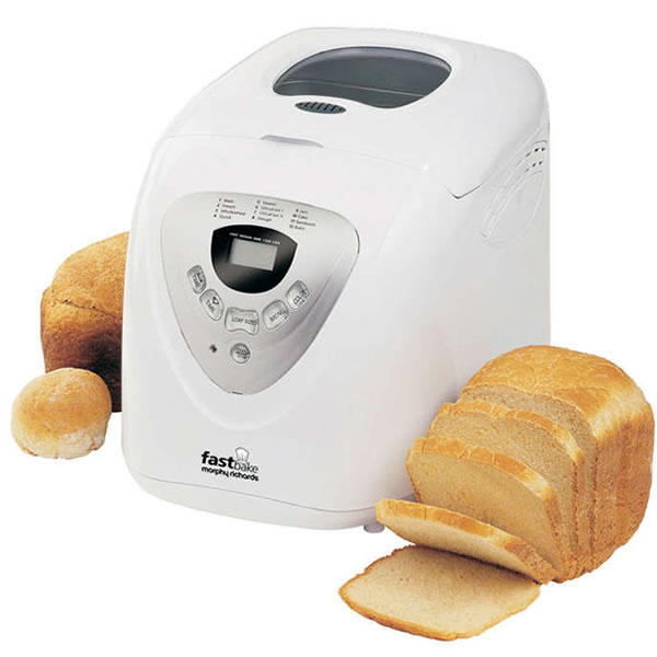 Image of Breadmaker 3 Loaf Sizes 12 Programme Cool Touch