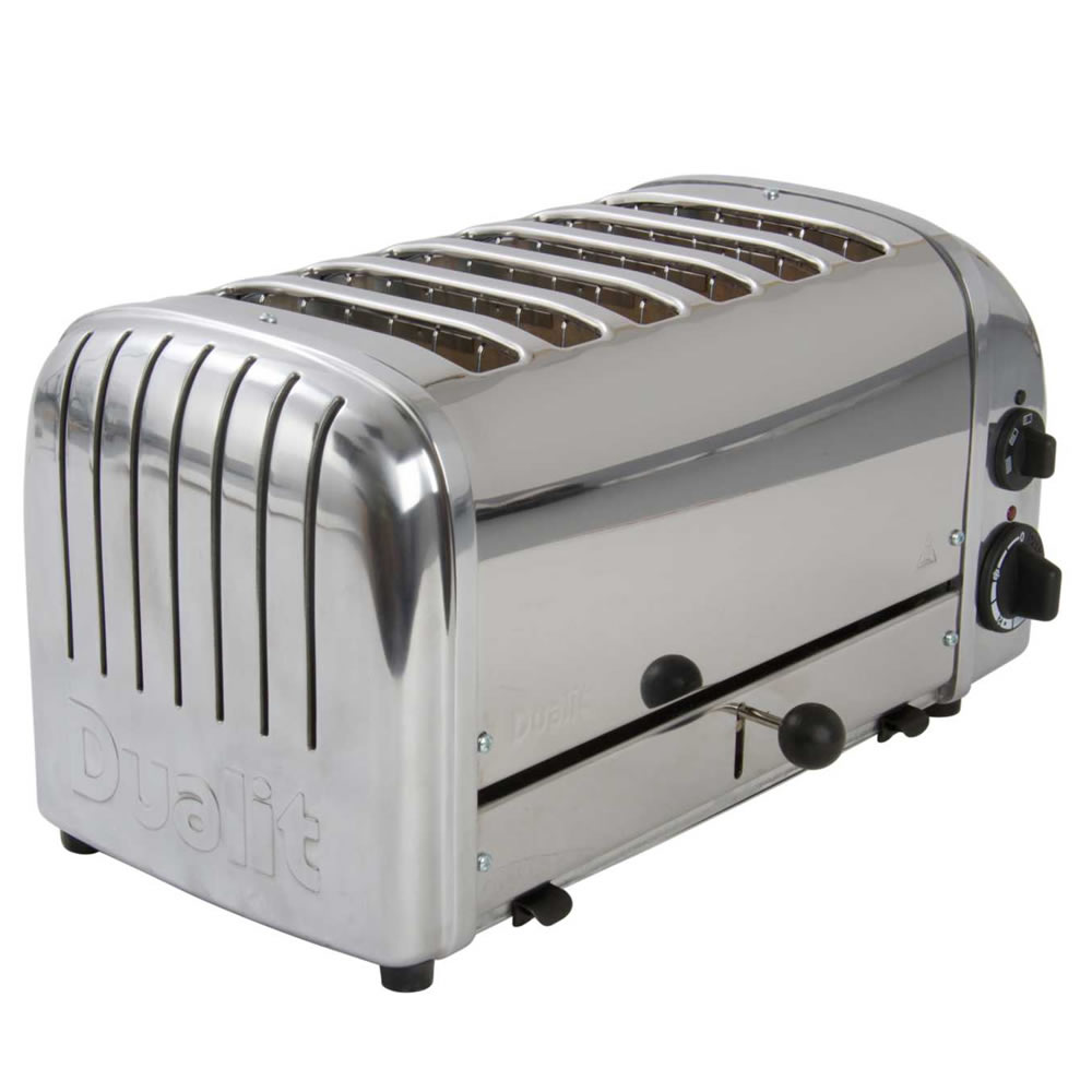 6-Slice Toaster Hi Lift Stainless Steel