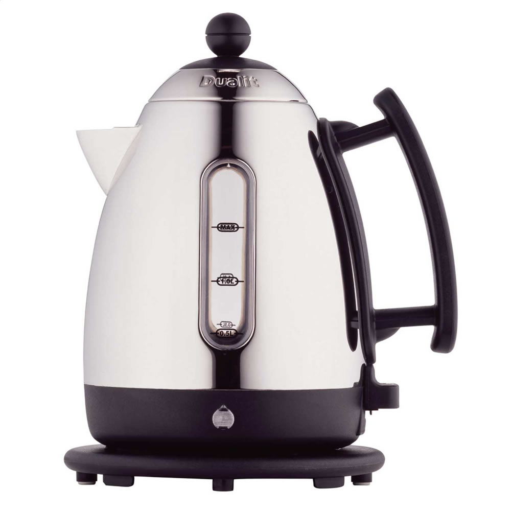 Cordless Jug Kettle 1.5litre 2.3Kw S/Steel/Black
