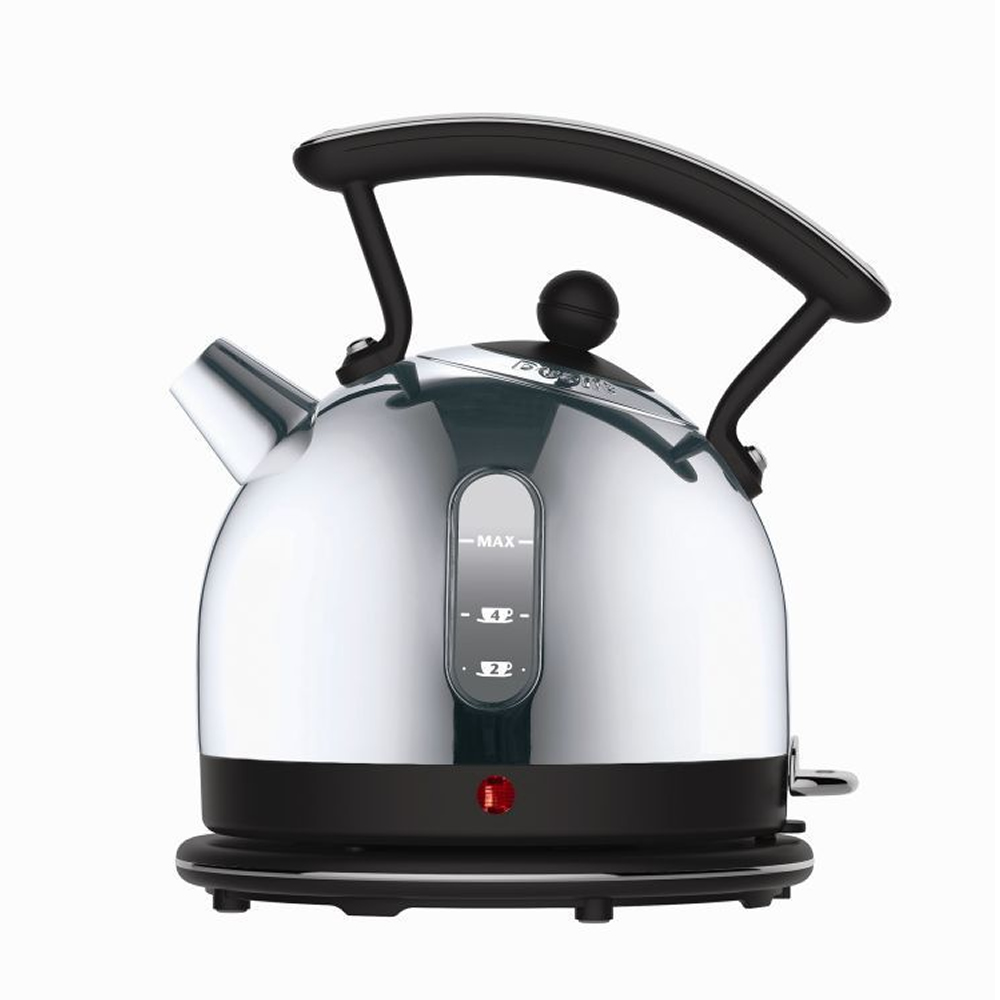 Cordless Kettle 1.7litre 3.0Kw S/Steel & Black