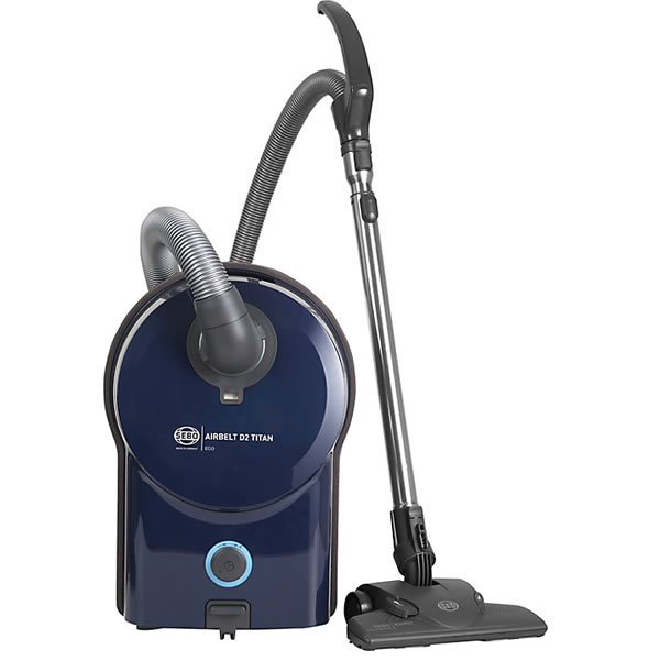 Image of 1200Watts Cylinder Bagged Vacuum Cleaner 6.0litres Blue