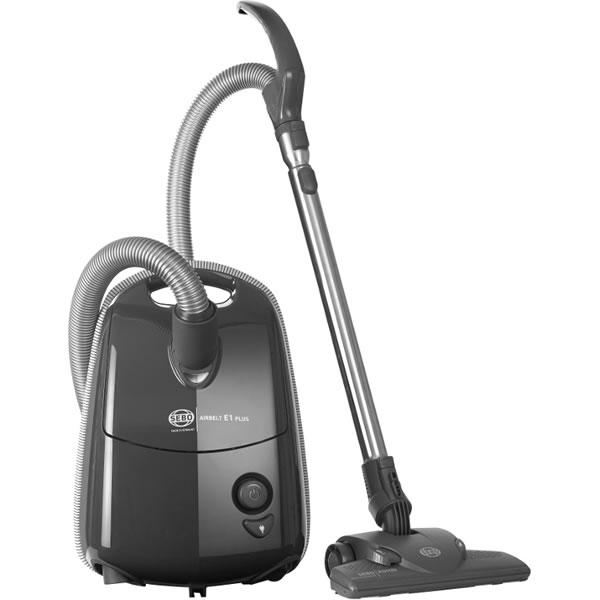 Image of 1200Watts Cylinder Bagged Vacuum Cleaner 3.5litres Grey