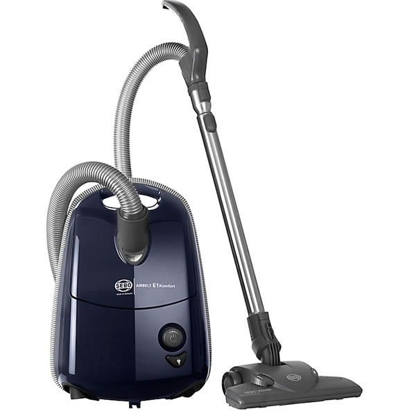 Image of 1200Watts Cylinder Bagged Vacuum Cleaner 3.5litres Blue