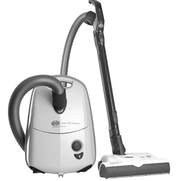 Image of 700Watts Cylinder Bagged Vacuum Cleaner 3.5litres White