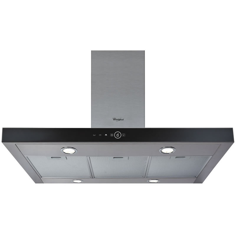 1000mm Cooker Hood 4-Speed 4 x Lights SSteel