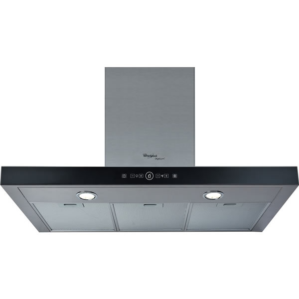 900mm Cooker Hood 5-Speed Twin Lights 6th Sense