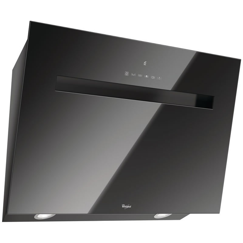 800mm Built-in Cooker Hood 4-Speed Twin Lights Black