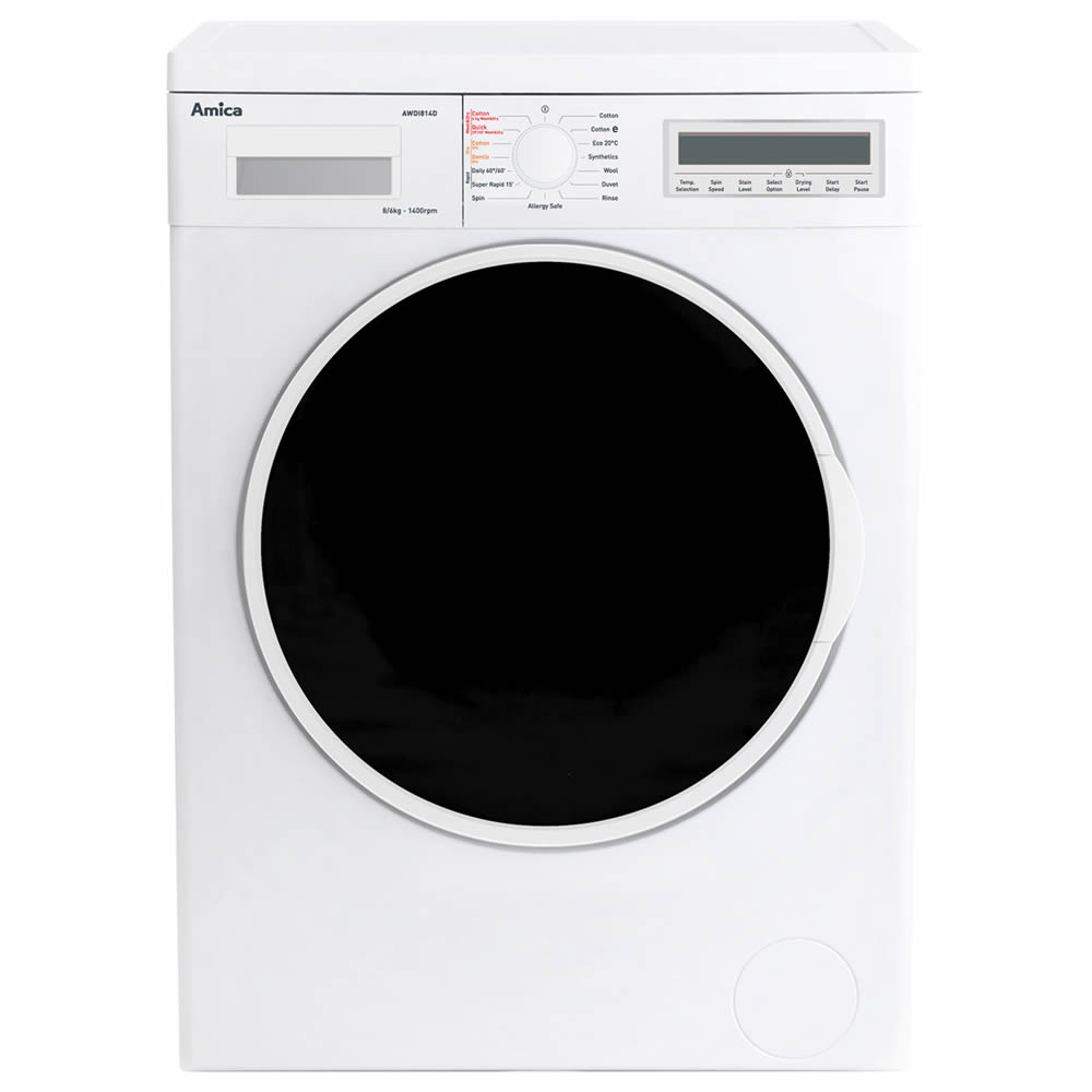 Image of 1400rpm Integrated Washer Dryer 8kg/6kg Load Class A