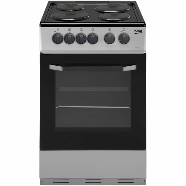 500mm Single Electric Cooker Integrated Grill S/Steel
