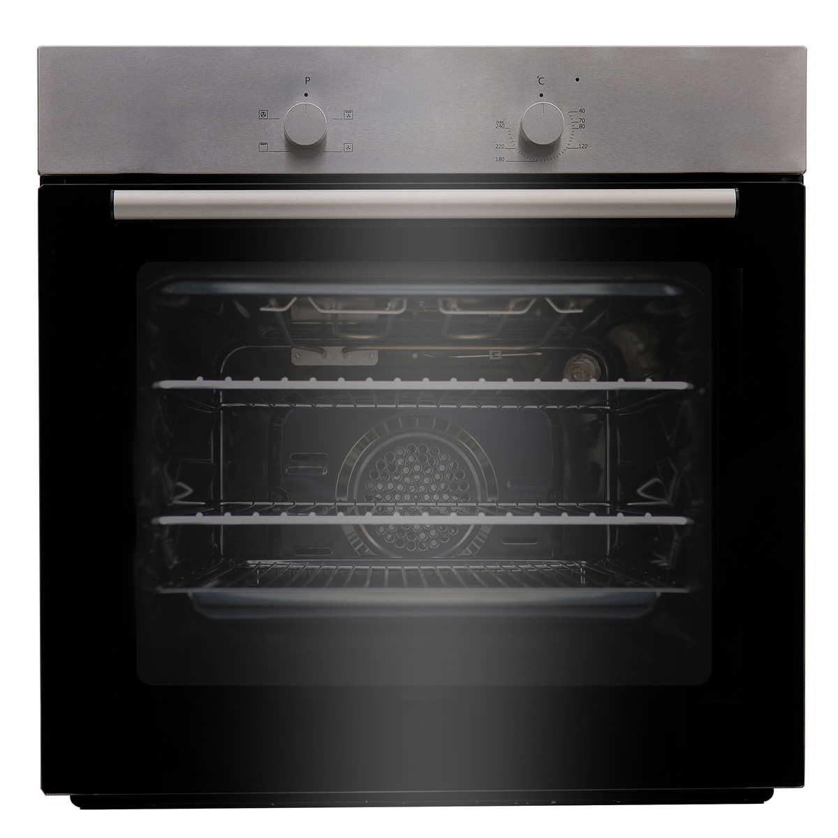 BITK60ESX Built-in Single Electric Oven 13-Amp Connection S/Steel