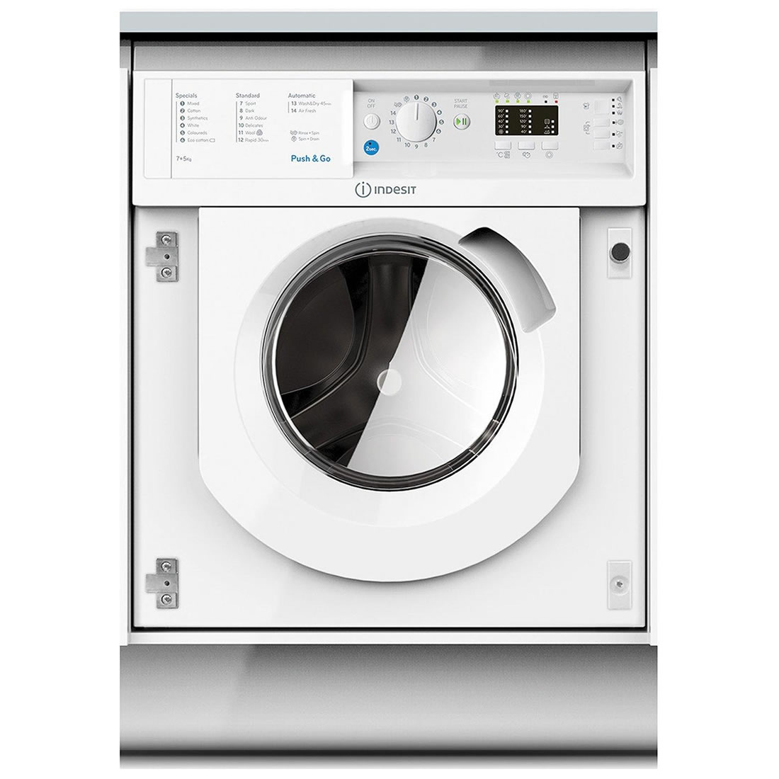 Image of 1200rpm Integrated Washer Dryer 7kg/5kg Load White