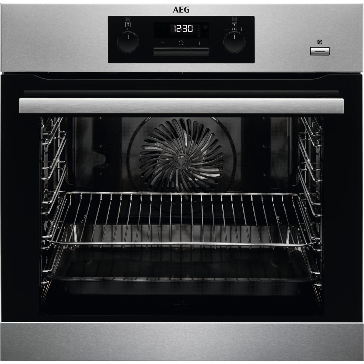 600mm Built-In Steam Bake Single Electric Oven Pyro