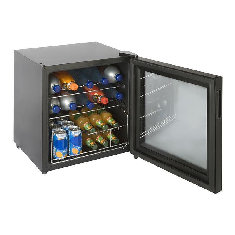 51litres Drinks Cooler 10 Bottle/10 Can Capacity Black