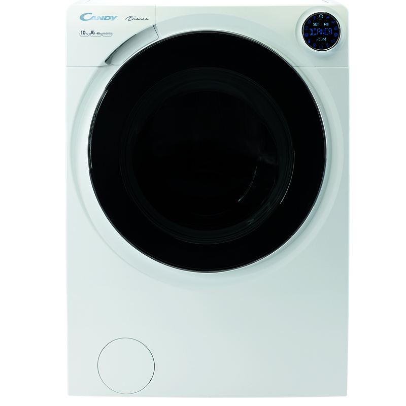 1500rpm Washing Machine 10kg Load Class A+ WiFi White