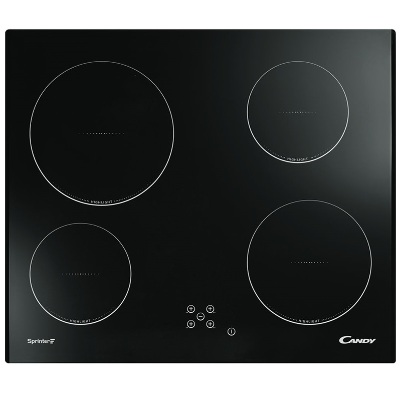 600mm Ceramic Hob 4 x Cook Zones Touch Control