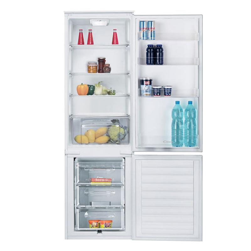 281litre Integrated Fridge Freezer Auto Defrost White