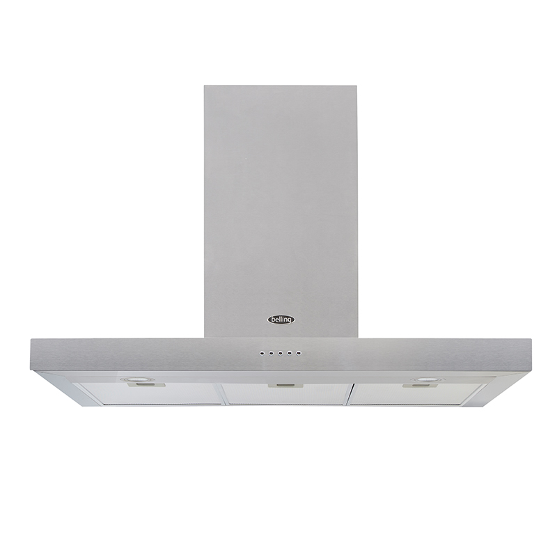 1000mm Cooker Hood 3-Speed Twin Lights S/Steel