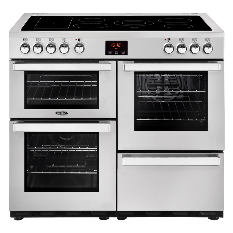 Compare retail prices of 1000mm Electric Range Cooker 5-Zone Ceramic Hob S/Steel to get the best deal online