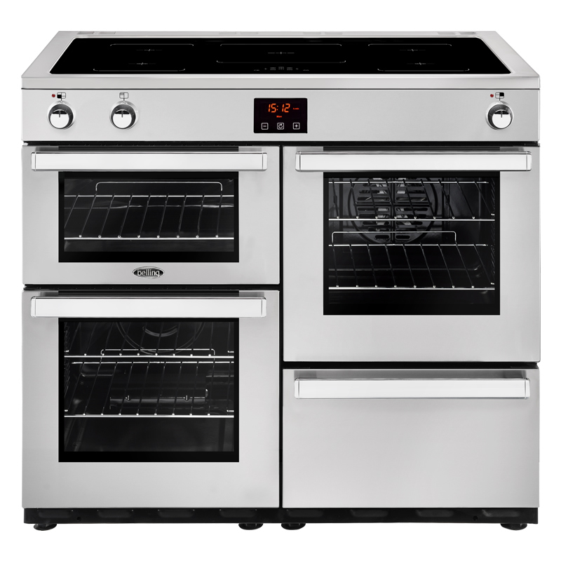 Compare retail prices of 1000mm Electric Range Cooker Induction Hob Pro S/Steel to get the best deal online