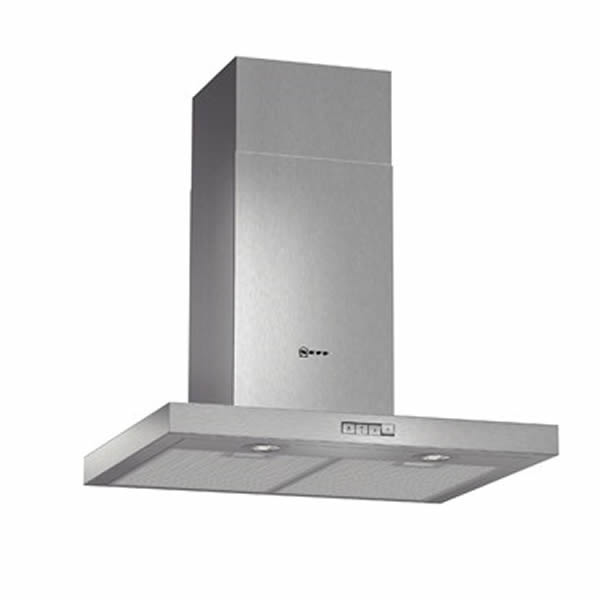 600mm Integrated Chimney Hood 3-Speed S/Steel