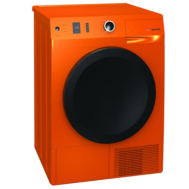 8kg Load Heat Pump Dryer 15 Programs Class A++ Orange