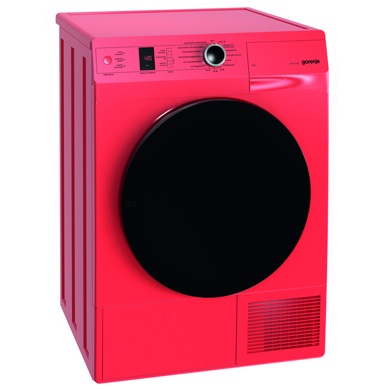 8kg Load Heat Pump Dryer 15 Programs Class A++ Red