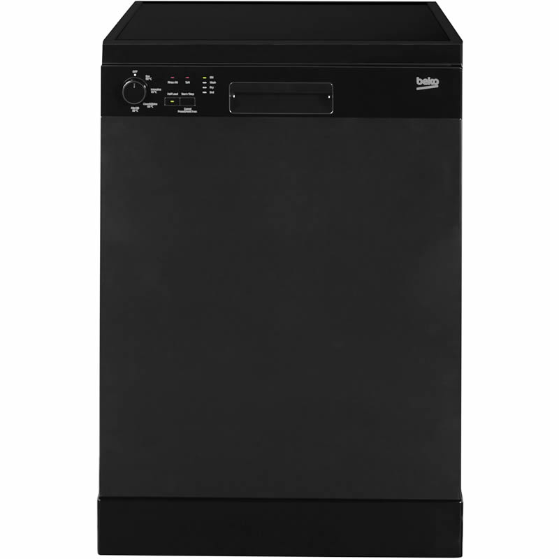 12-Place Dishwasher 4 Programmes Class A+ Black