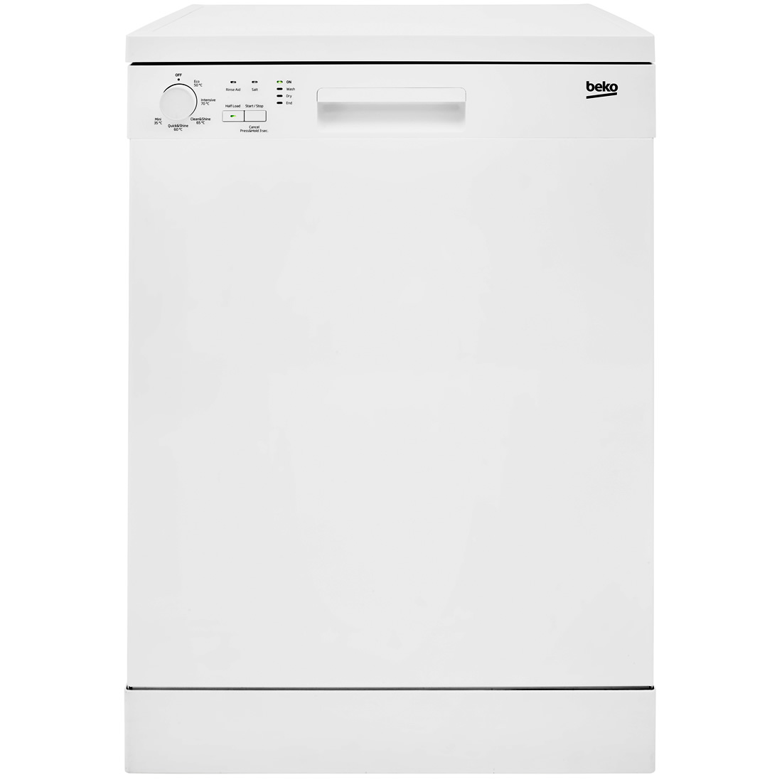 13-Place Dishwasher 5 Progs Class A+ White