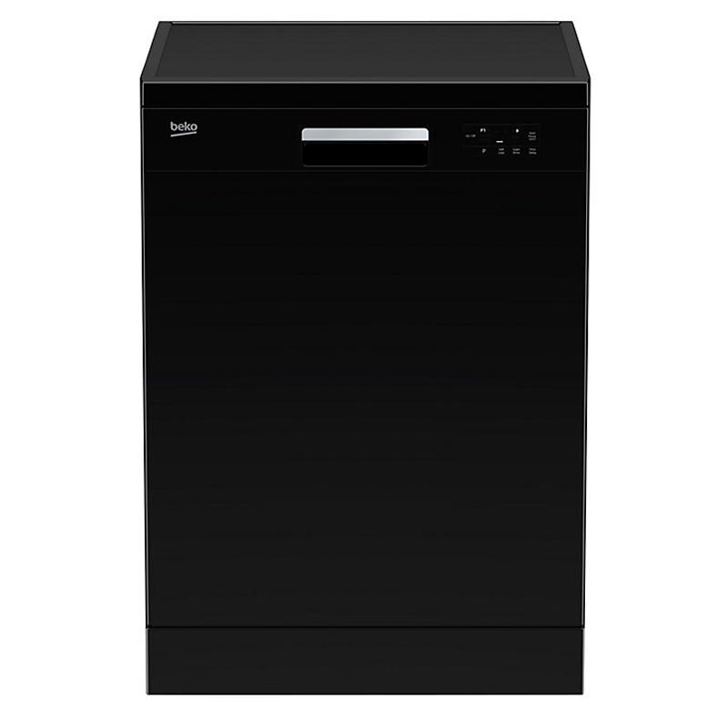12-Place Dishwasher 6 Progs Class A+ Black