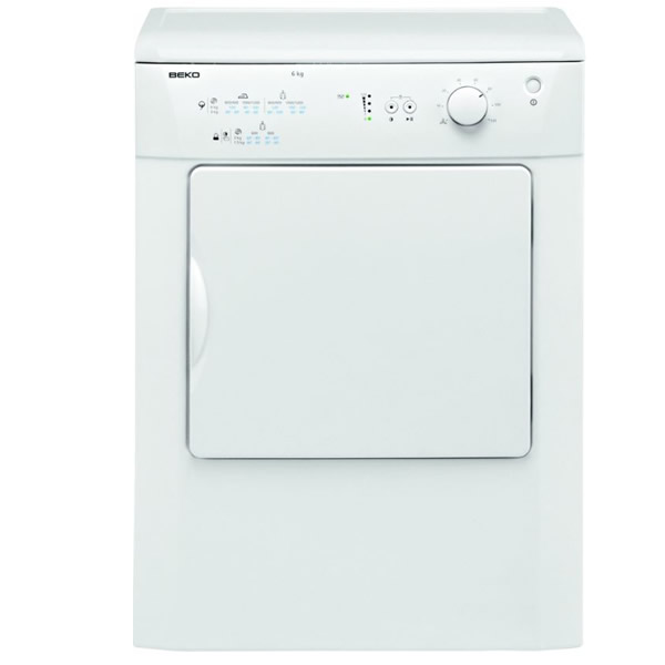 Image of 6kg Load Vented Tumble Dryer Class C White