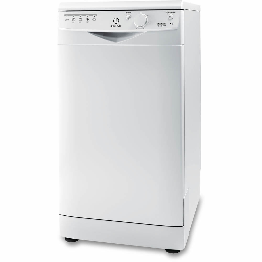 Image of 10 Place Slimline Dishwasher 5 Progs Class A+ White