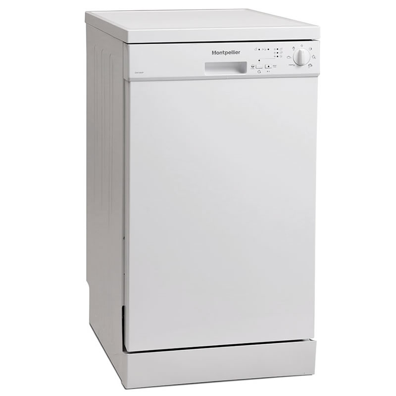 Image of 10-Place Slimline Dishwasher 6 Progs Class A++ White