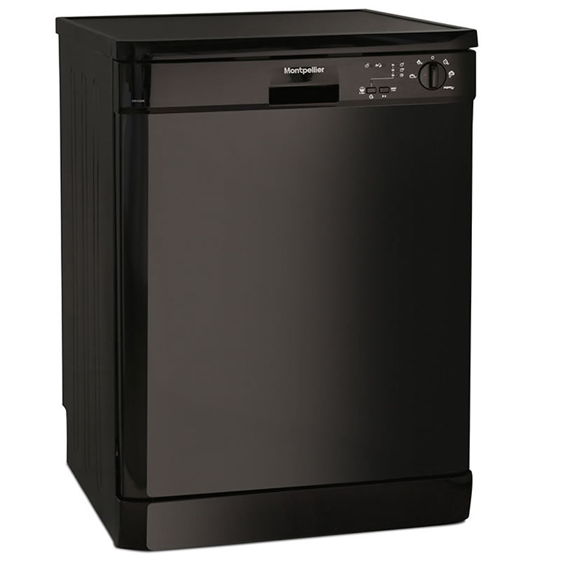 12-Place Dishwasher 5 Progs Class A++ Black