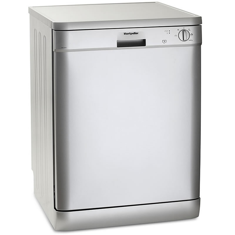 12-Place Dishwasher 5 Progs Class A++ Silver