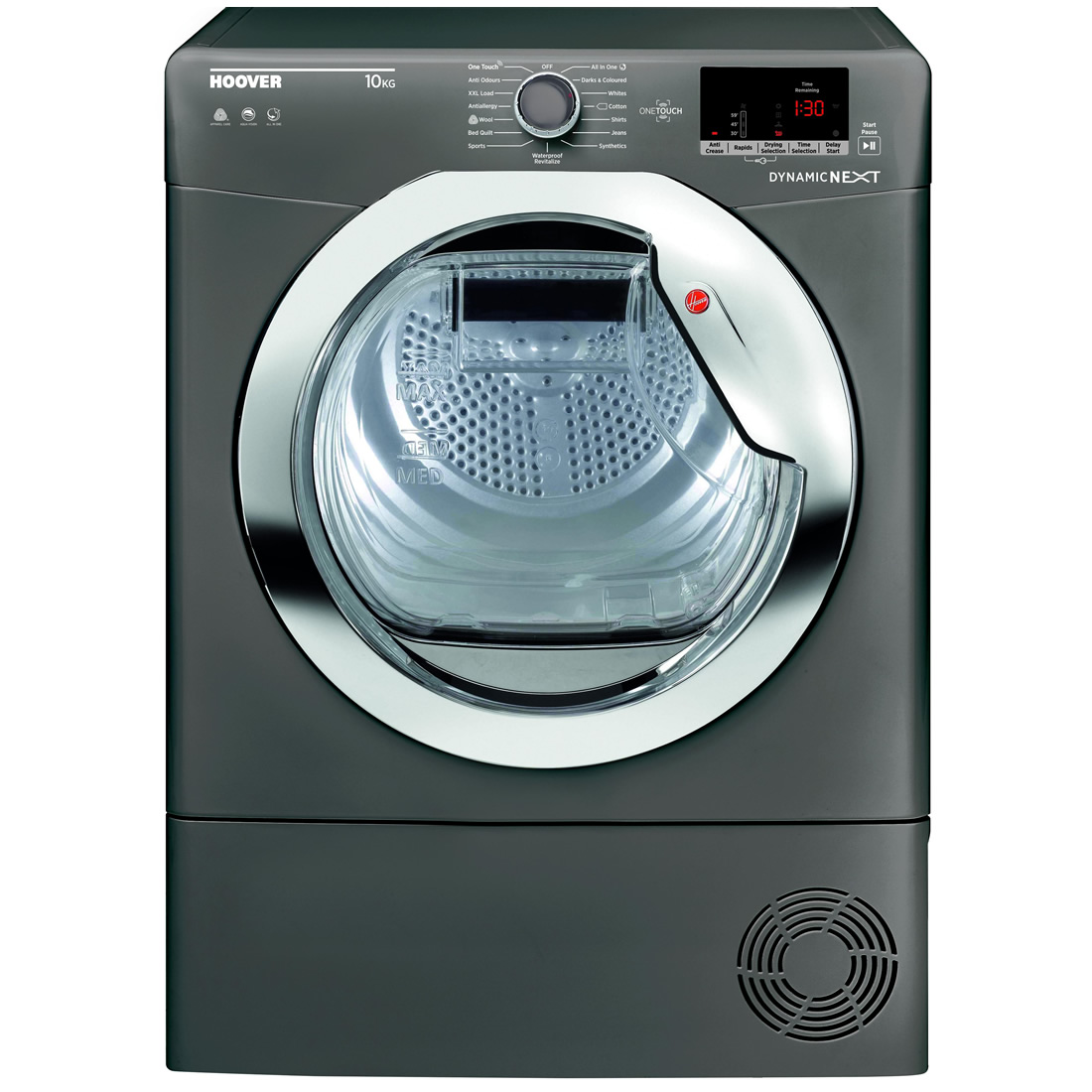 Image of 10kg Load Condenser Tumble Dryer Class B Graphite