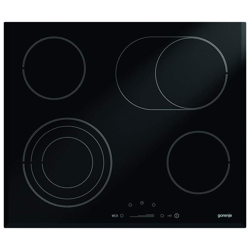 600mm Ceramic Hob 4 x Zones Touch Control Timer