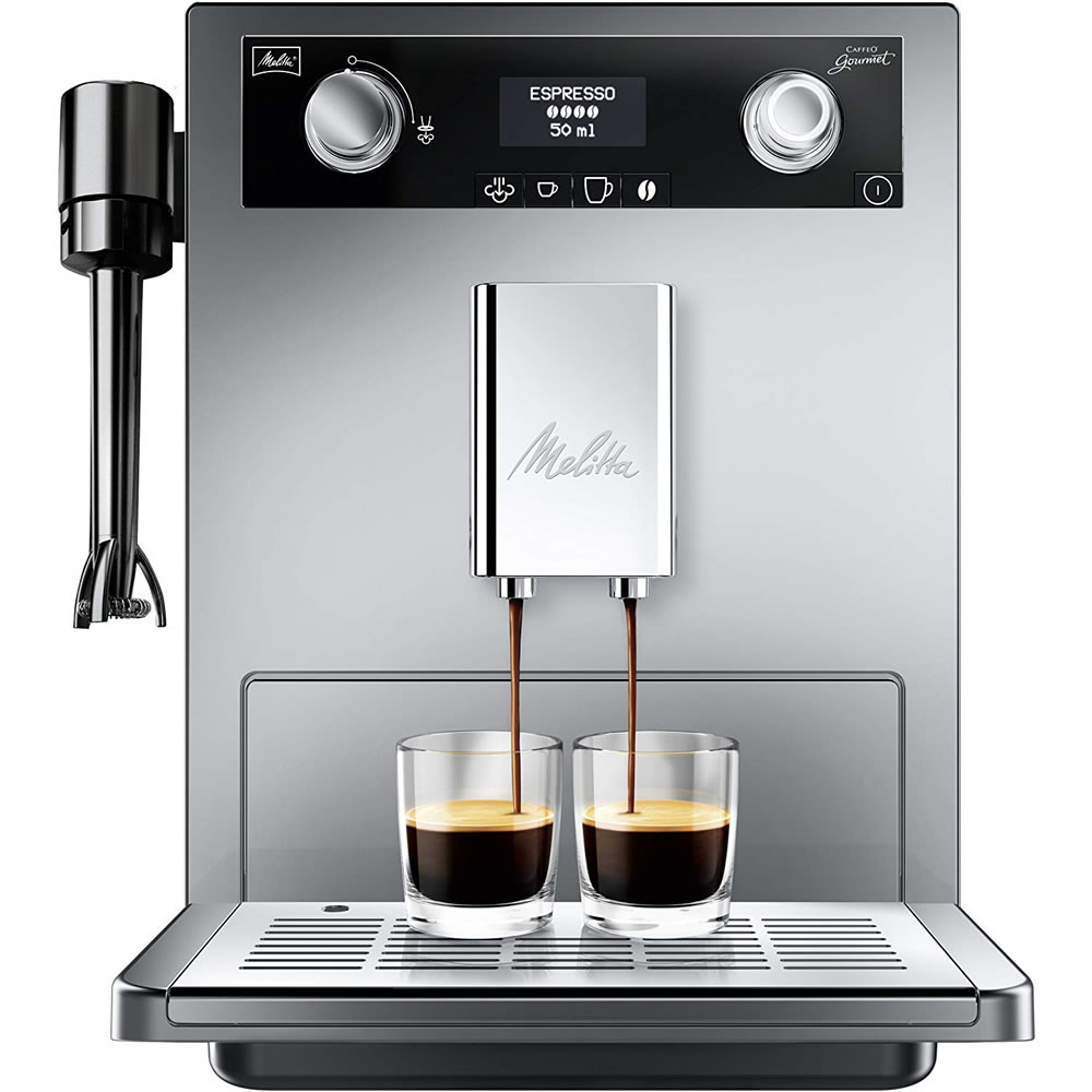 Image of Bean-to-Cup Coffee Machine LCD Screen Silver