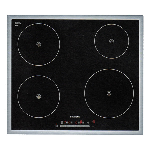 600mm Induction Hob 4 Zone Touch Control Black