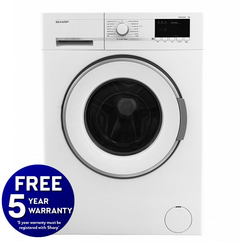 1600rpm 7kg Washing Machine Class A++ White