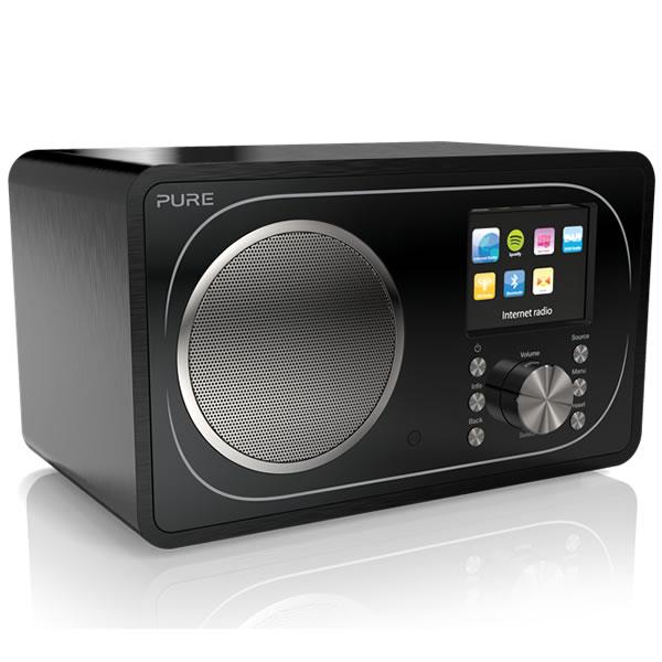 DAB+ & FM Internet Radio WiFi Bluetooth Black