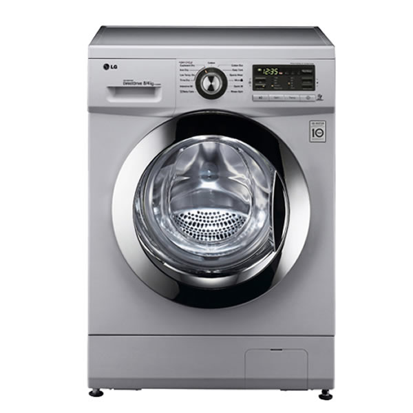 1400rpm DD Washer Dryer 8kg4kg Class B Silver